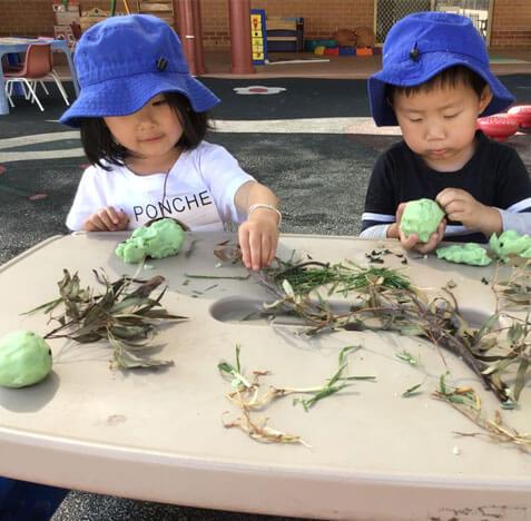 kids outside activity